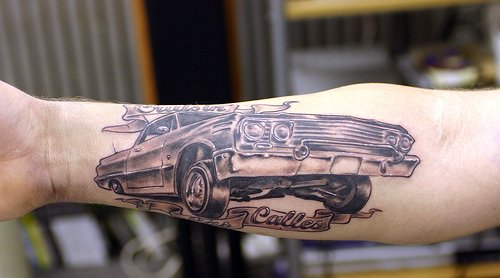 Old Car Tattoo