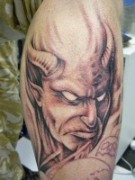 Evil Devil Tattoos