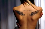 Little Wing Girl Tattoo