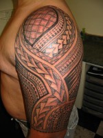 Nice Samoan Tattoo Designs