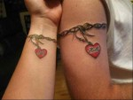 Heart Tattoos For Couples